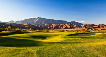 6 Green @ Green Spring Golf Course - St. George Utah Golf - Photo By - Brian Oar - @brianoar