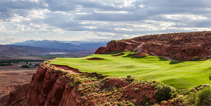12 Tee @ Sand Hollow Golf Club - St. George Utah Golf - Photo By - Brian Oar - @brianoar