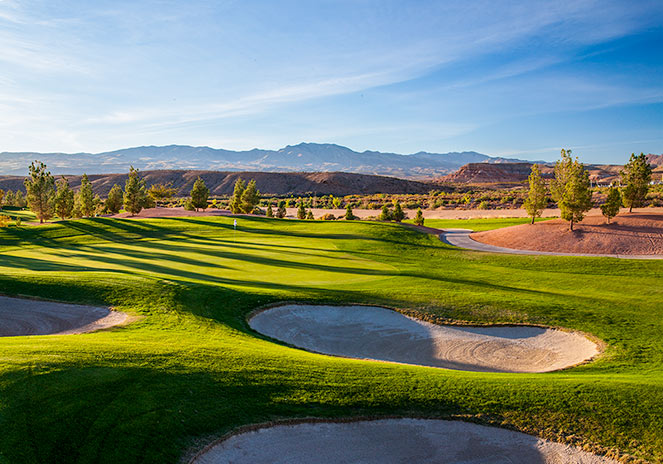 3 Green @ SunRiver Golf Club - St. George Utah Golf - Photo By - Brian Oar - @brianoar