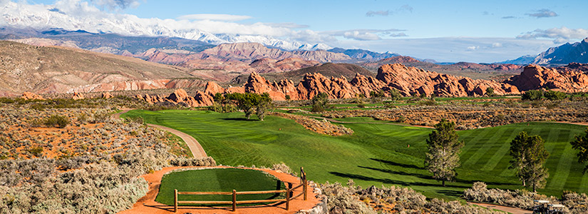 5 Tee @ Sky Mountain Golf Course - St. George Utah Golf - Photo By - Brian Oar - @brianoar