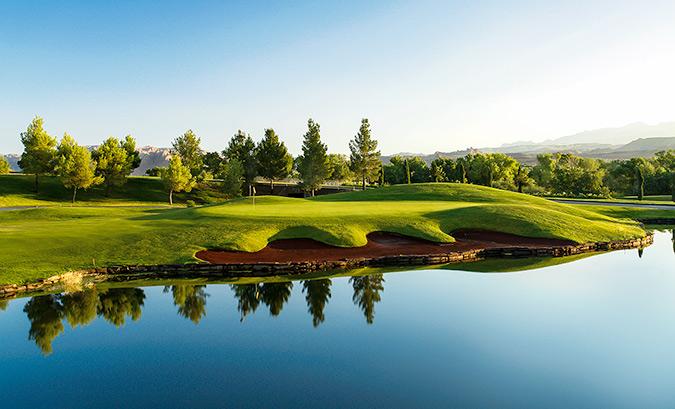 6 Green @ Sunbrook Golf Club - St. George Utah Golf - Photo By - Brian Oar - @brianoar