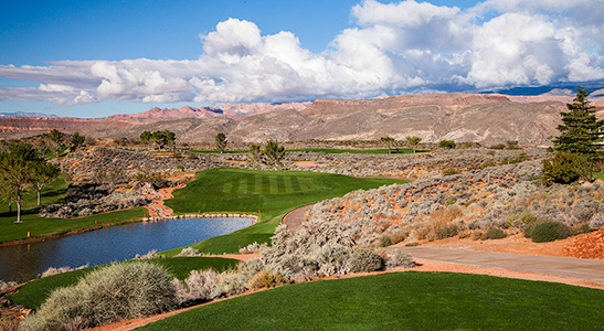 8 Tee @ Sky Mountain Golf Course - St. George Utah Golf - Photo By - Brian Oar - @brianoar