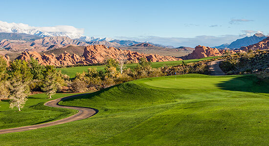 9 Green @ Sky Mountain Golf Course - St. George Utah Golf - Photo By - Brian Oar - @brianoar