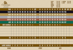Conestoga Golf Club Scorecard - MesquiteGolfCourses.com