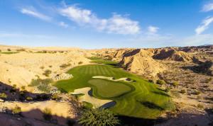 5 Green @ Conestoga Golf Club - Near St. George Utah - Photo By - Brian Oar - @brianoar