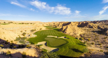 5 Green @ Conestoga Golf Club - Near St. George Utah - Photo By - Brian Oar - @brianoar