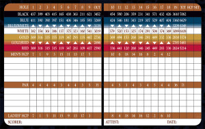 Entrada at Snow Canyon Golf Club Scorecard | StGeorgeUtahGolf.com