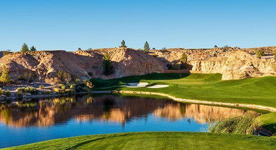 #2 Tee at Falcon Ridge Golf Club - Mesquite, Nevada - Photo by Brian Oar - All Rights Reserved