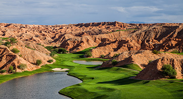 Wolf Creek Golf Club - Mesquite, Nevada - Photo by Brian Oar - All Rights Reserved