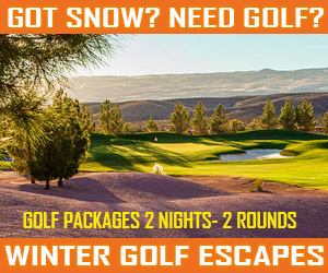 Got Snow? Need Golf? Winter Golf Packages in Mesquite, Nevada!