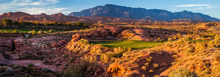 #6 Tee Coral Canyon Golf Course - St. George, Utah - Photo by Brian Oar - All Rights Reserved