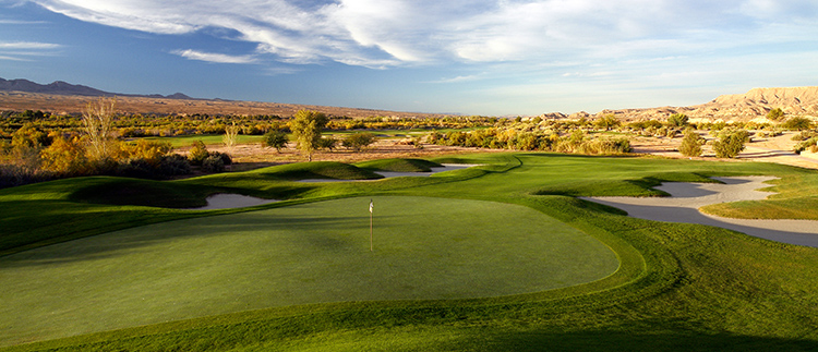 #14 CasaBlanca Golf Club - Mesquite, Nevada - Photo by Brian Oar - All Rights Reserved
