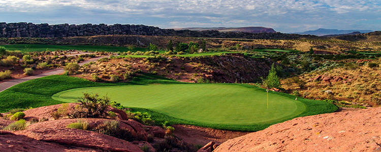 #6 Coral Canyon Golf Course - St. George, Utah - Photo by Brian Oar - All Rights Reserved