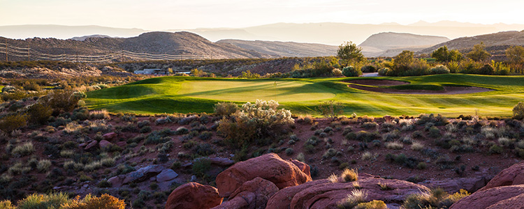 Coral Canyon Golf Club Only 40 Minutes North Of Mesquite