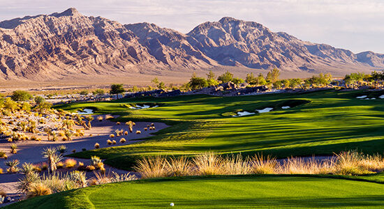 #13 Tee Coyote Springs Golf Club - Near Mesquite, Nevada - Photo by Brian Oar - All Rights Reserved