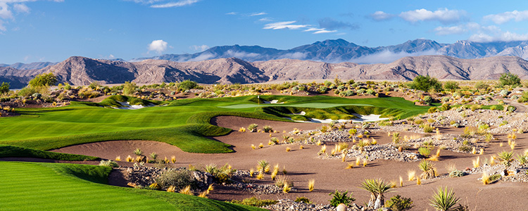 #12 Coyote Springs Golf Club - Near Mesquite, Nevada - Photo by Brian Oar - All Rights Reserved