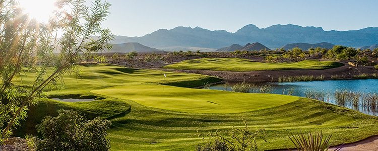 #15 Coyote Springs Golf Club - Near Mesquite, Nevada - Photo by Brian Oar - All Rights Reserved