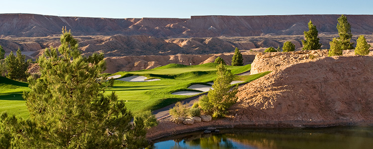 #1 Falcon Ridge Golf Course - Mesquite, Nevada - Photo by Brian Oar - All Rights Reserved