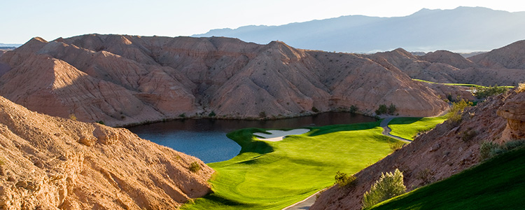 #12 Falcon Ridge Golf Course - Mesquite, Nevada - Photo by Brian Oar - All Rights Reserved