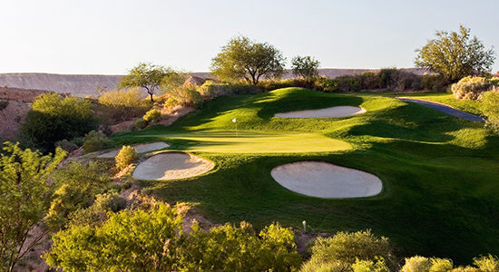 #7 The Oasis Golf Club - Palmer Course - Mesquite, Nevada - Photo by Brian Oar - All Rights Reserved