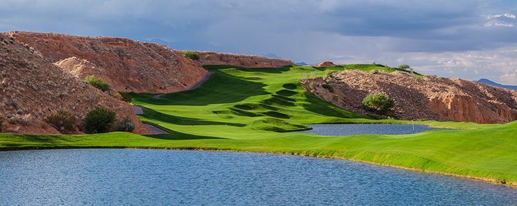 #12 Wolf Creek Golf Club - Mesquite, Nevada - Photo by Brian Oar - All Rights Reserved
