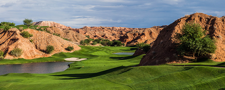 #12 Fairway - Wolf Creek Golf Club - Mesquite, Nevada - Photo by Brian Oar - All Rights Reserved