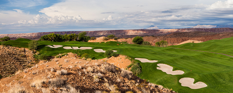 #14 Wolf Creek Golf Club - Mesquite, Nevada - Photo by Brian Oar - All Rights Reserved